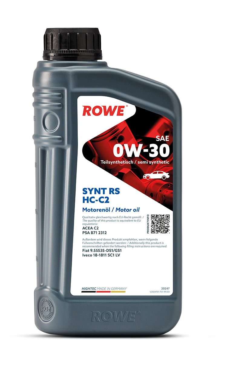 HIGHTEC SYNT RS SAE 0W-30 HC-C2