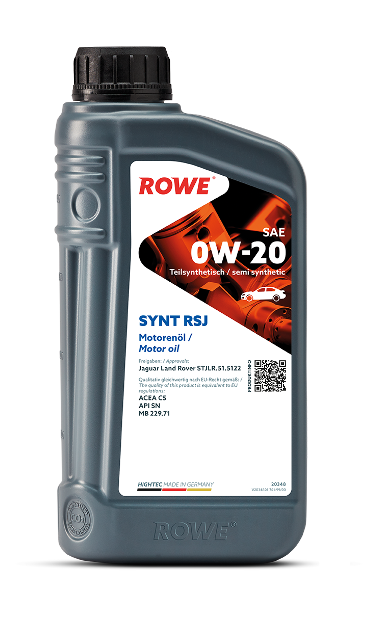 HIGHTEC SYNT RSJ SAE 0W-20 NEW
