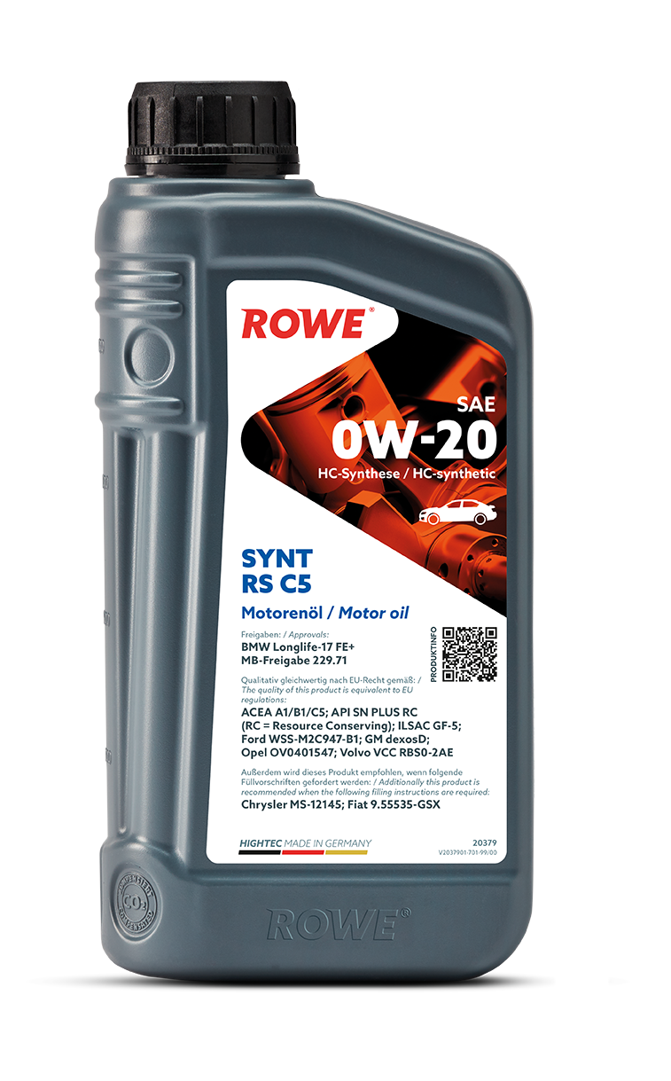 HIGHTEC SYNT RS C5 SAE 0W-20 NEW