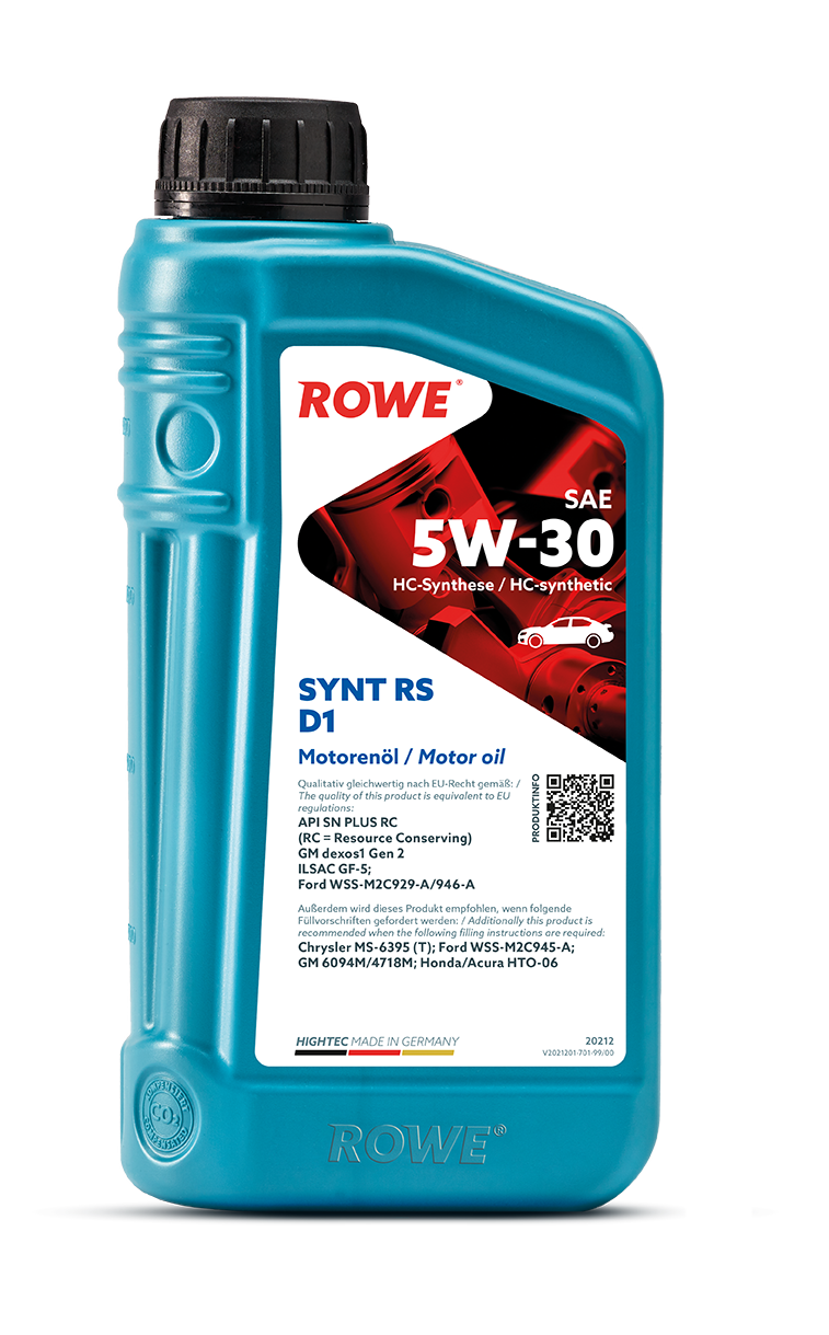 HIGHTEC SYNT RS D1 SAE 5W-30