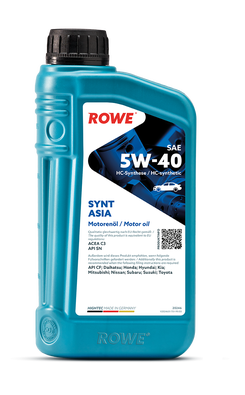 HIGHTEC SYNT ASIA SAE 5W-40 NEW